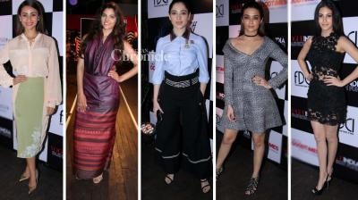 Several B-Town celebrities came out dressed stunningly for a fashion event on Tuesday. (Photo: Viral Bhayani)