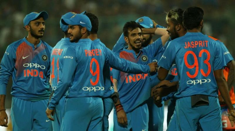 Yuzvendra Chahal got an early breakthrough for India. (Photo: BCCI)