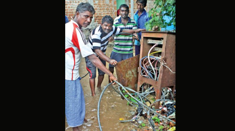 Two girls electrocuted as rain continues to lash Chennai