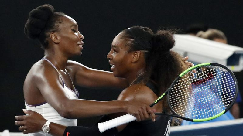 Sisters Venus and Serena Williams compete for another Grand Slam tennis title
