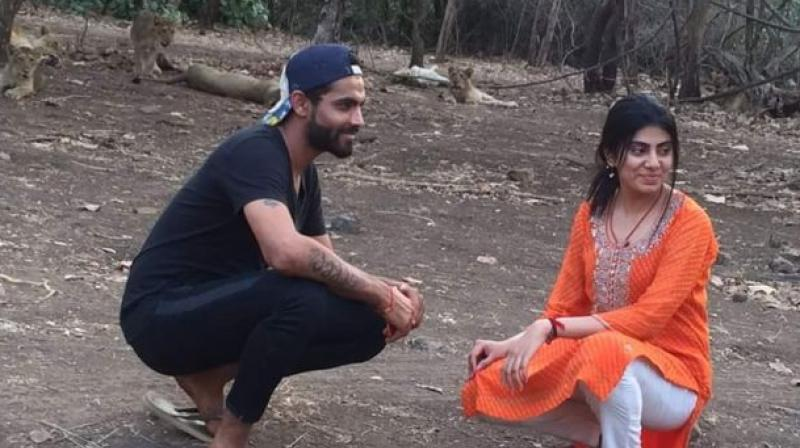 Ravindra Jadeja hits a girl with vehicle, rushes her to hospital