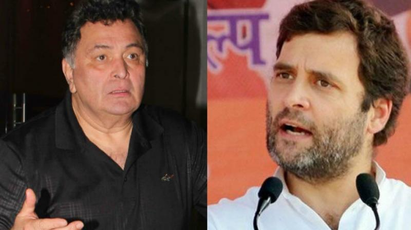 Dynasty row: Actor Rishi Kapoor slams Rahul Gandhi on Twitter