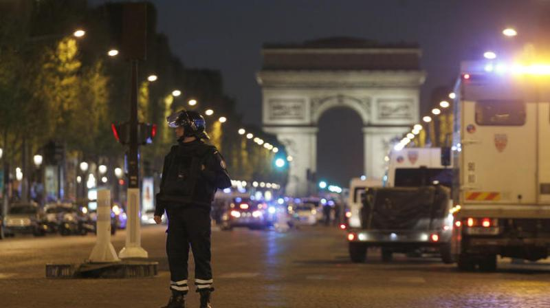 Paris attack: Police officer shot dead, another wounded, Champs Elysees closed off