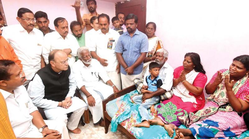 Political killings onus on state asserts arun jaitley for V muraleedharan bjp