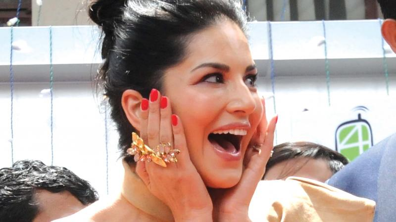 Sunny Leone Is In Kochi For An Inaugural Event