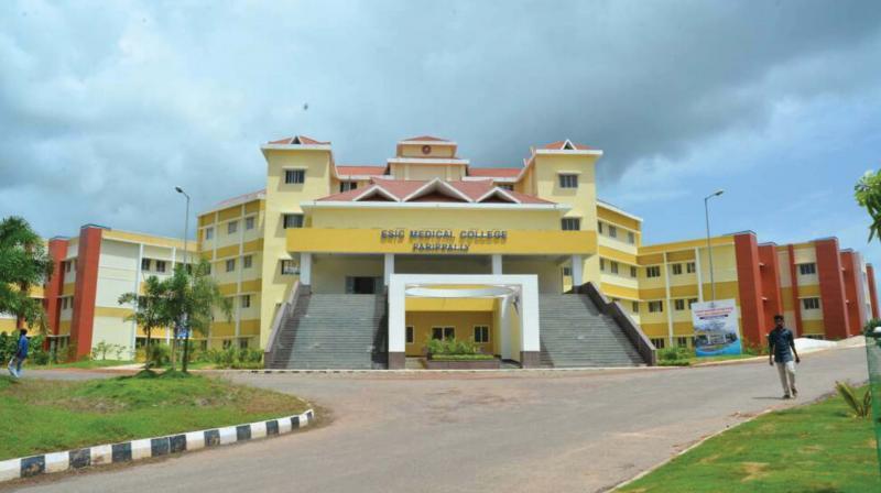 The Parippally ESI Medical College.