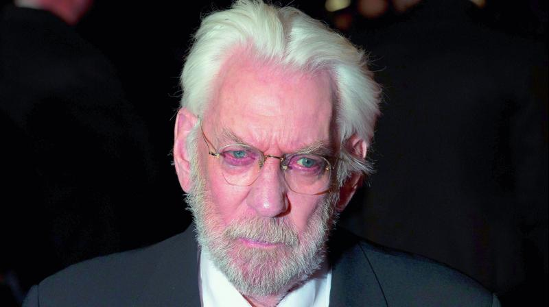 Donald Sutherland selected for Honorary Oscar