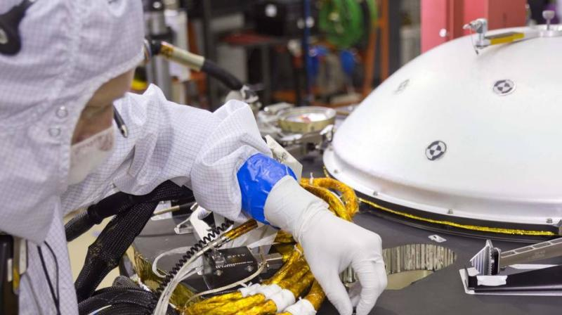InSight will be the first mission to look deep beneath the Martian surface, studying the planet's interior by listening for marsquakes.