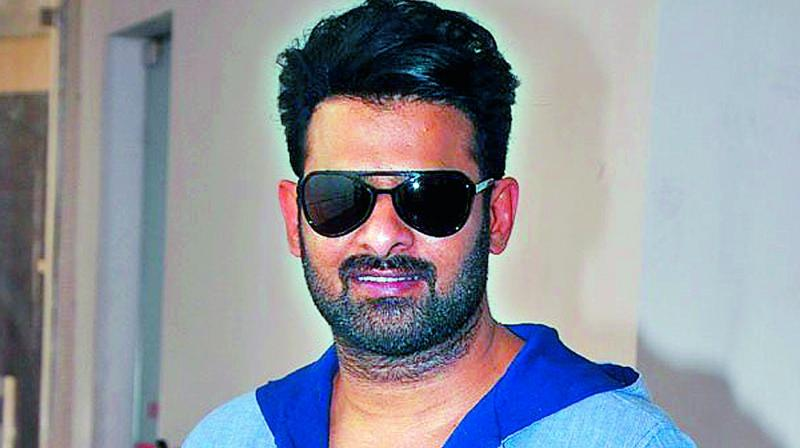 Baahubali star Prabhas' new look for his next film Saaho!