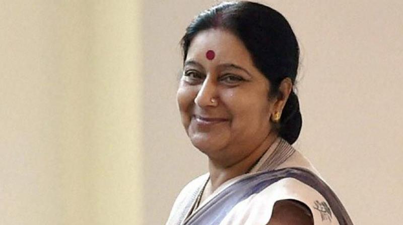 Sushma Swaraj's reply to man stuck on Mars goes viral