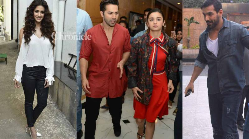 B-Town stars were snapped by shutterbugs at various locations and events on Saturday. (Photo: Viral Bhayani)