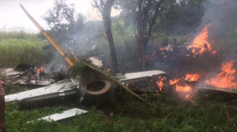 The defence spokesperson said that helicopter crashed around 6 am while it was on an air maintenance mission.  (Representational Image)