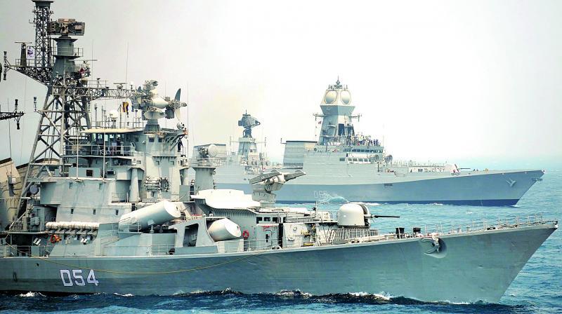 China hopes Malabar exercise not aimed at any third country