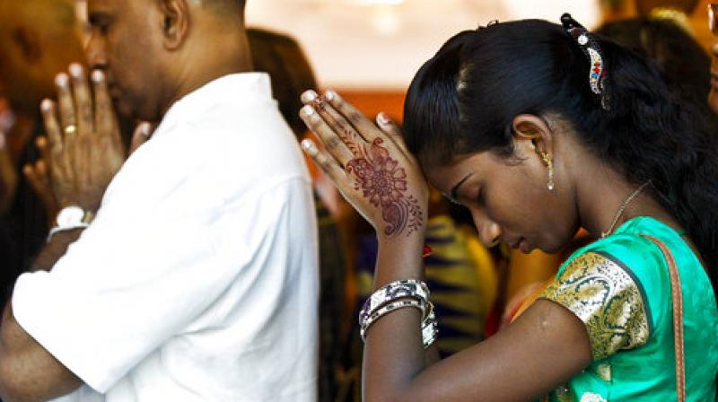 Deepavali, also known as Festival of Lights, is celebrated by Hindu communities as the new beginning and the triumph of good over evil and light over darkness. (Photo: AP)