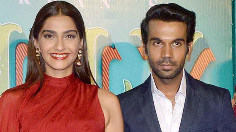 Rajkummar Rao and Sonam Kapoor.