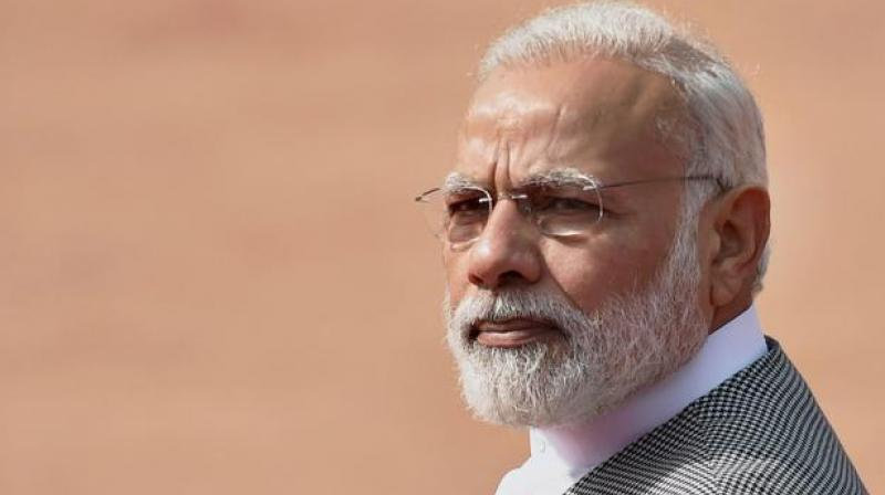 At IIT Gandhinagar, 'tea-ian' PM pitches for 'Digital India'