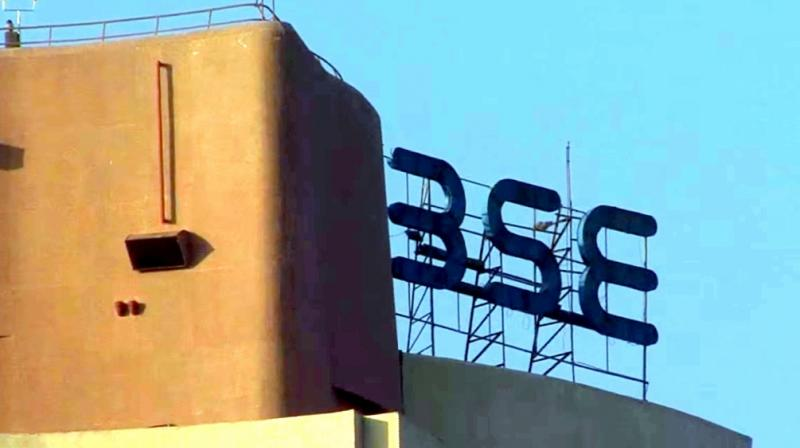 The benchmark BSE Sensex was marginally lower by 2.70 points at 33,248.23.