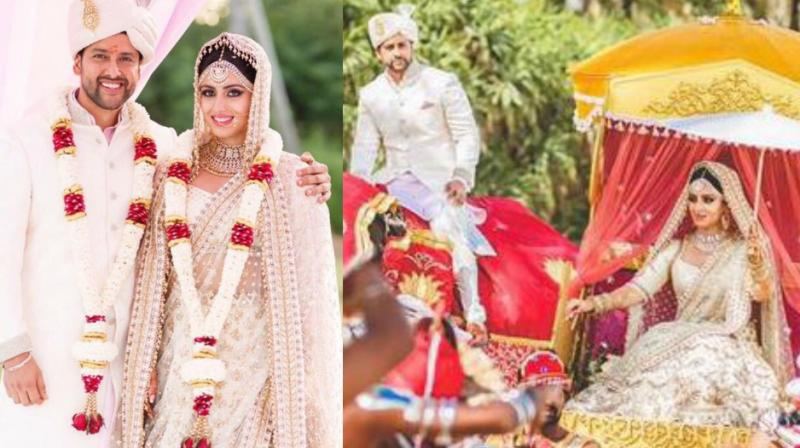 Actor Aftab Shivdasani , Nin Dusanj renews wedding vows in Sri Lanka
