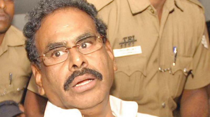 Sasikala granted five-day parole to meet ailing husband M Natarajan