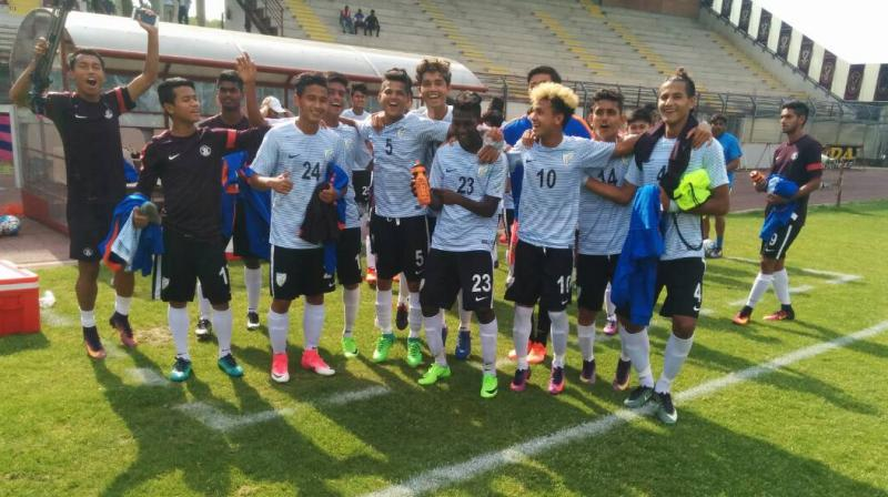 Not the Italy U-17 team but a team with Italians
