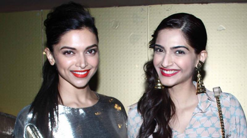 Deepika and Sonam once appeared together on Karan Johar's popular talk show.