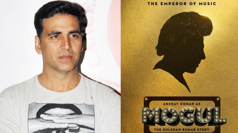 Mogul first look: Akshay Kumar to play Gulshan Kumar in the biopic