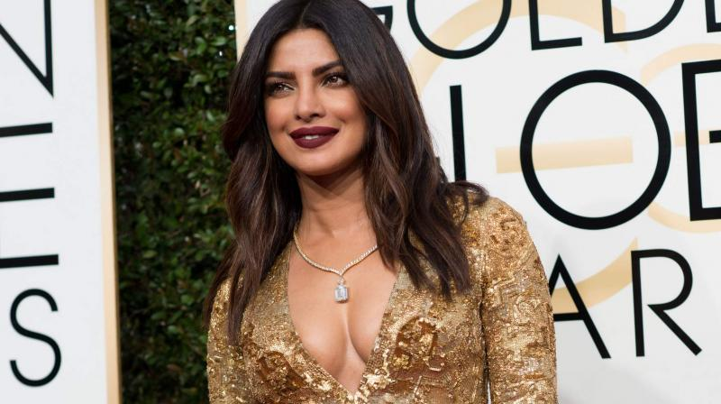 Priyanka's golden avatar at the Golden Globes is a visual treat!