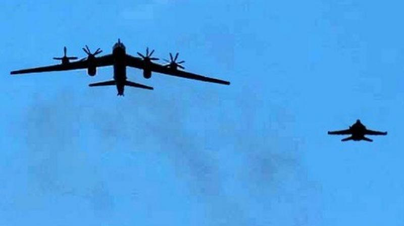 Russia flies multiple bomber missions near Alaska: Pentagon