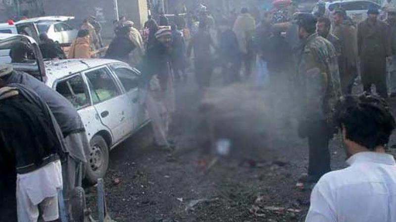 Roadside bomb kills 9 people in northwest Pakistan