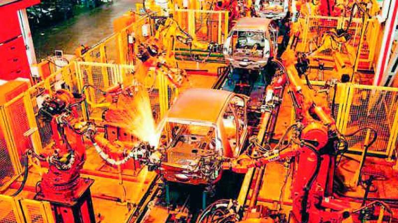 Manufacturing PMI down in November on demonetisation effect
