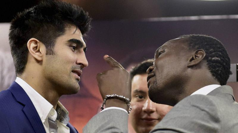 Vijender knocks out Cheka to retain Asia Pacific title