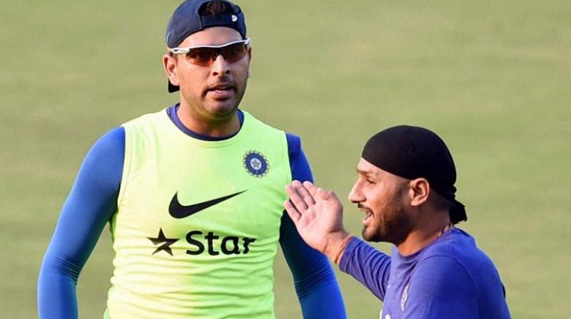 Harbhajan Singh salutes Yuvraj Singh's fighting spirit