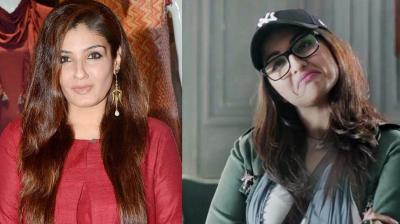 Raveena Tandon's 'Maatr' and Sonakshi Sinha's 'Noor' are set to clash at the box office on 21 April.