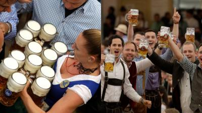 Over 6 million people are expected to attend the world's largest beer festival. (Photos: AP)