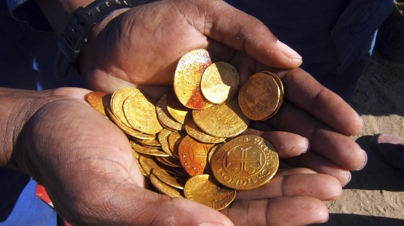 Over 2000 gold coins recovered from ancient Portuguese shipwreck – Deccan Chronicle