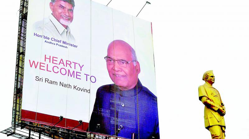 Kovind promises to keep office of President above party politics