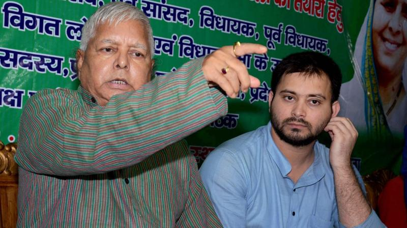 Modi And Shah Behind The CBI Raids, Say Lalu Yadav