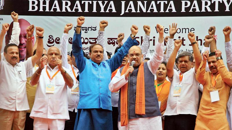 Poll fever: Amit Shah to use UP election strategy in Karnataka?