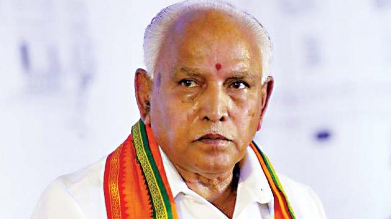 Karnataka: BJP workers protest after BS Yeddyurappa is charged in corruption case