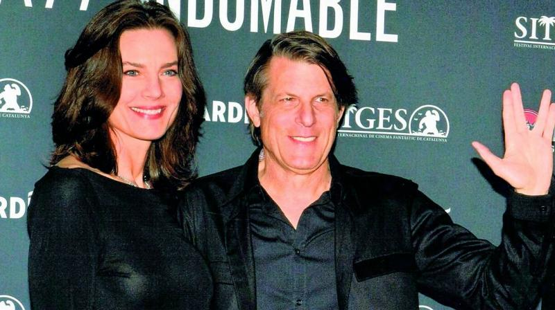 Terry Farrell engaged to Adam Nimoy