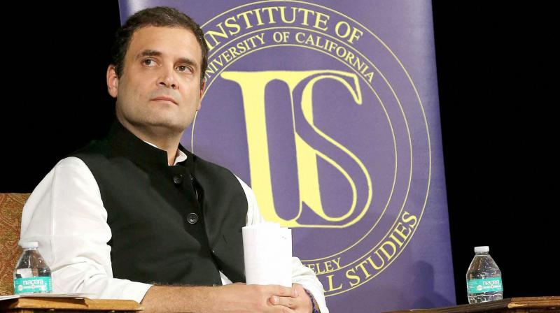 Rahul Gandhi off to USA, his 2nd foreign trip in 20 days