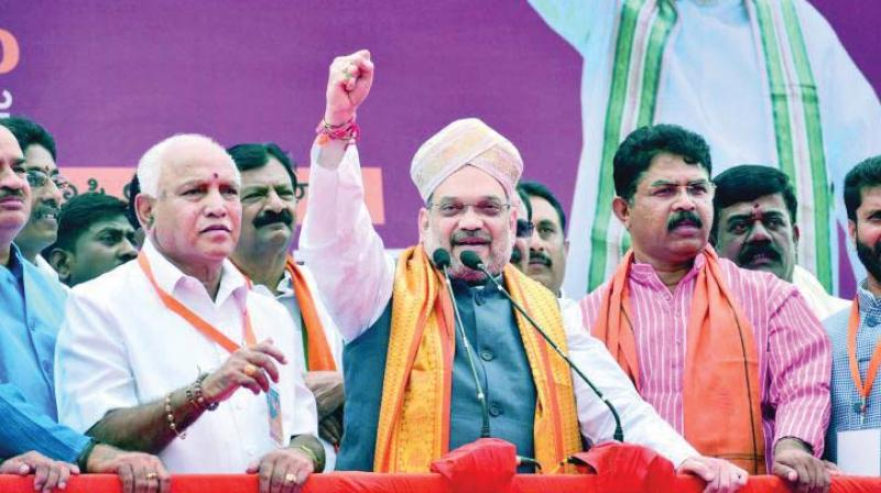 Mega rally for BJP's Gujarat poll bid