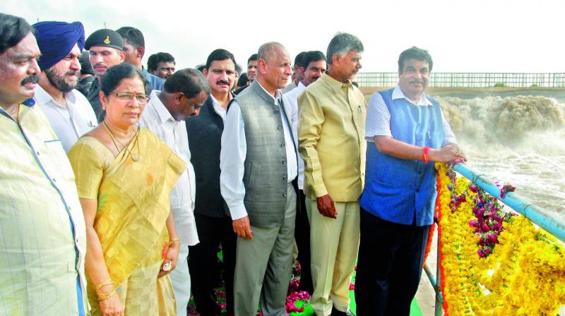 Polavaram a lifeline for AP and nation: Nitin Gadkari