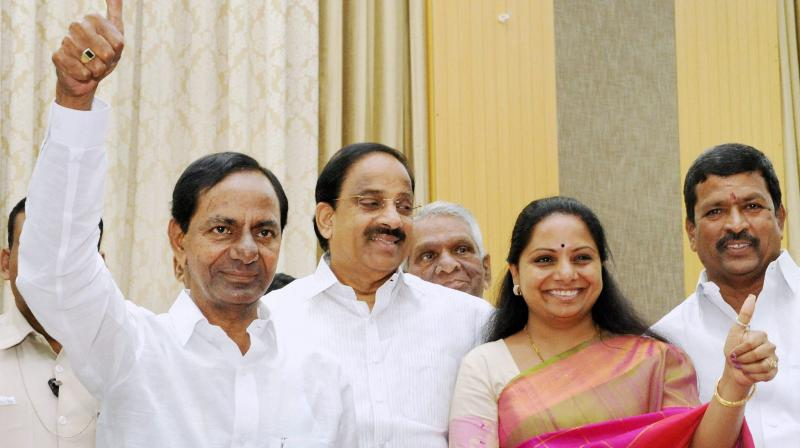 TRS affiliated TBGKS triumphs in Singareni polls