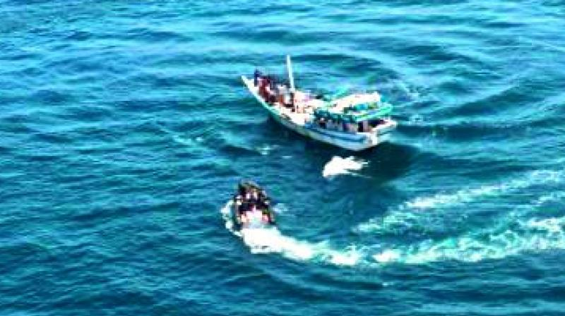 Pirate attack thwarted by Indian Navy in Gulf of Aden