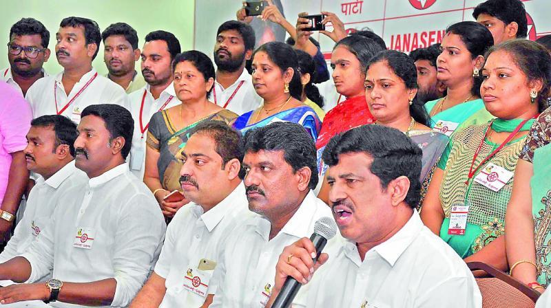 Pawan Kalyan counter tweets to Ashok Gajapathi Raju and Minister Pithani