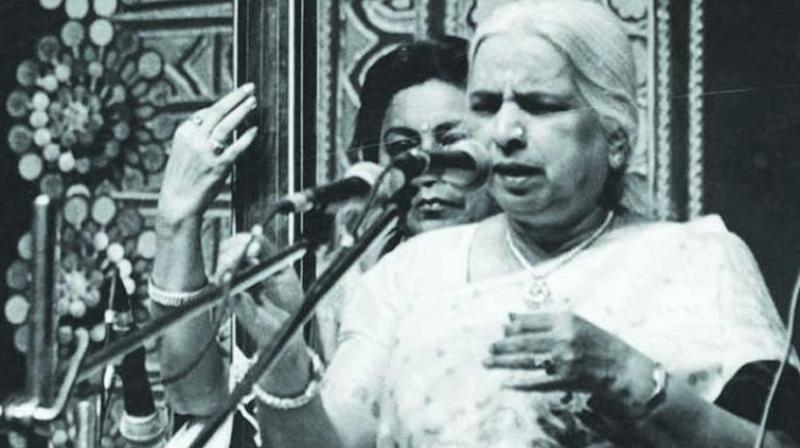 Queen of thumri Girija Devi: A legend is no more