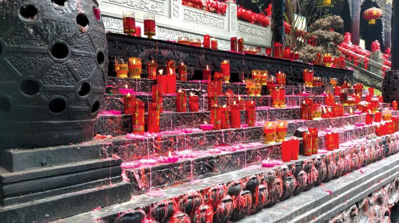 Luohan temple at Chongqing.