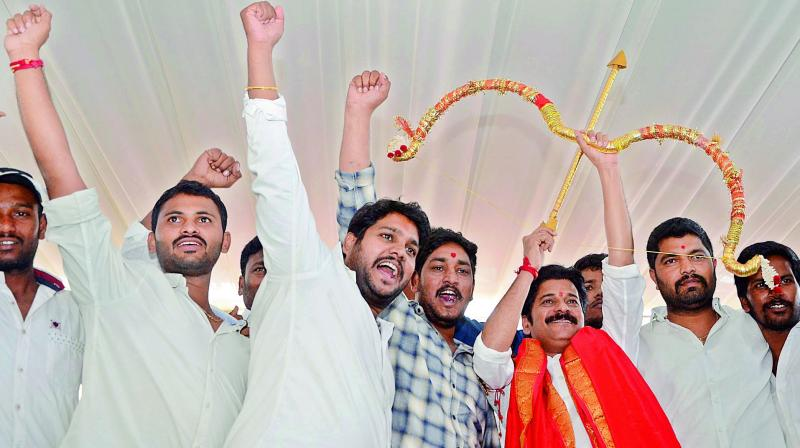 Revanth joins Congress along with significant number of other leaders
