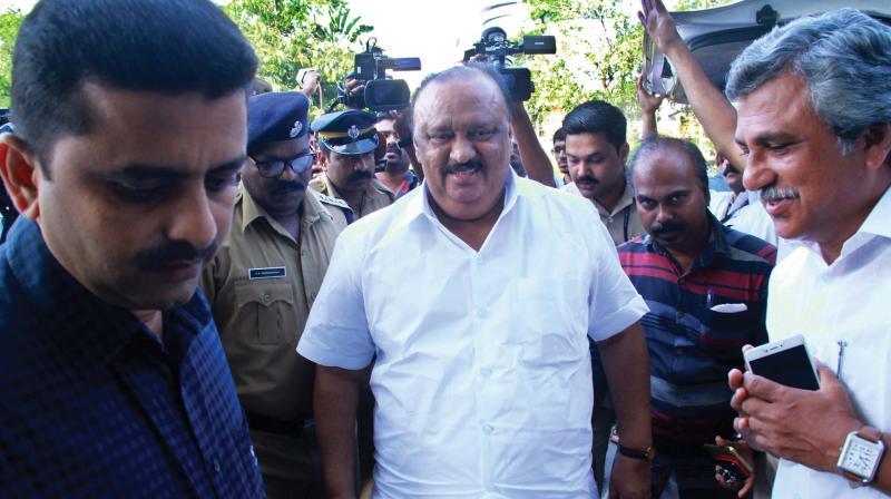 Kerala state transport minister Thomas Chandy resigns
